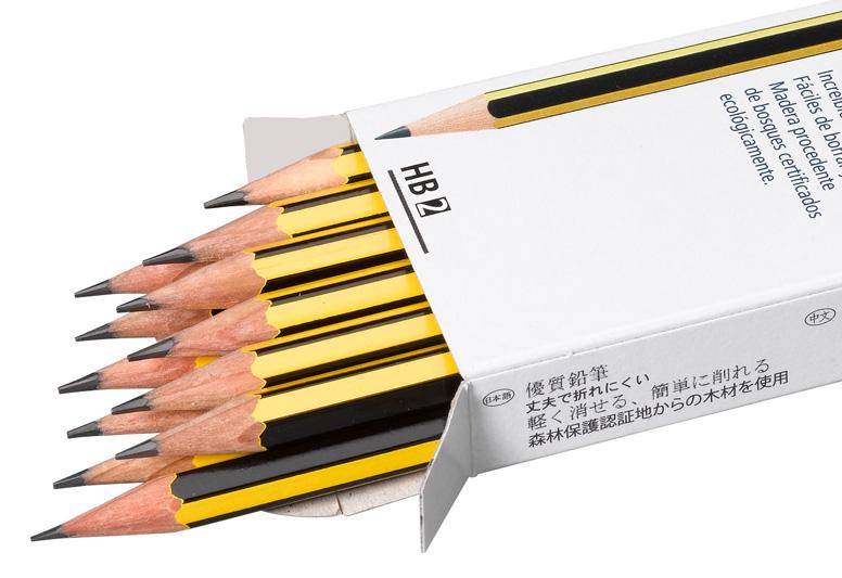 Bleistiftpackung