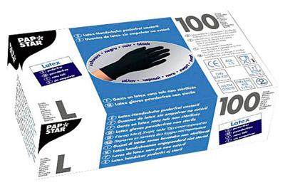 100 Einmalhanschuhe aus Latex