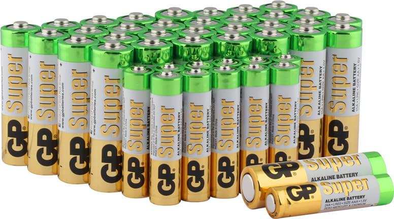 Batterien unverpackt im Set