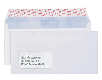 Briefumschläge für Geschäftsbriefe