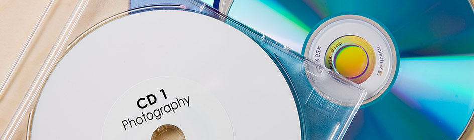Bild mit meheren CD-Rohlinegn