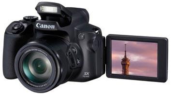 Digitalkamera mit schwenkbarem Display
