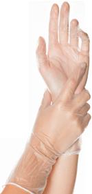 Extralange Einmalhandschuhe