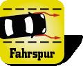 Fahrspur-Assistent Symbol