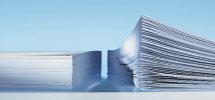Stapel zusammengehefteter Dokumente
