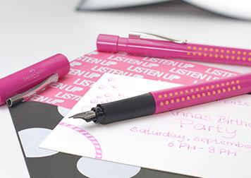 Pinker Füller
