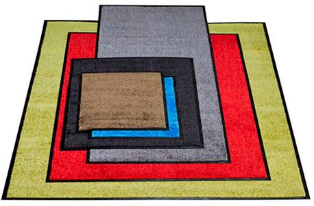 Fußmatten in verschiedenen Größen