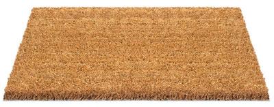 Bild einer Matte aus Kokos