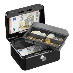 kleine Geldkassette