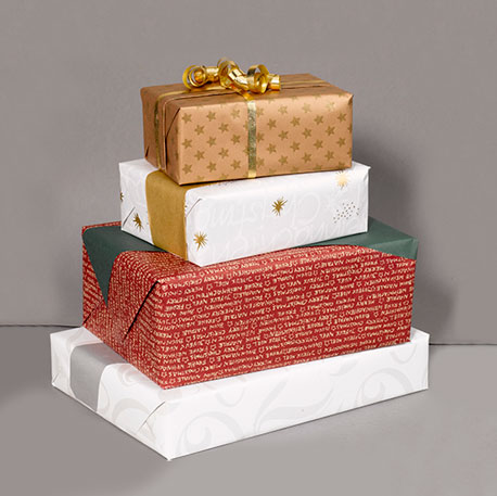 Verschiedenes Geschenkpapier