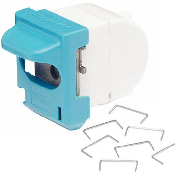 Kassette mit Heftklammern für elektronisches Heftgerät von Rapesco