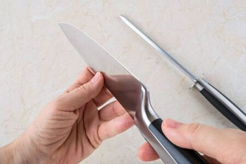 Messer mit Edelstahlklinge
