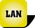 Piktogramm für LAN-Anschluss