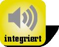 Piktogramm mit Lautsprecher