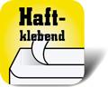 Piktogramm für haftklebende Briefumschläge