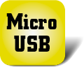 Piktogramm Micro USB