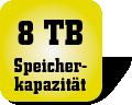 Piktogramm für Speicherkapazität von Festplatten