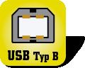 Piktogramm USB-Typ-B