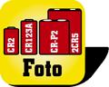 Piktogramm Fotobatterien