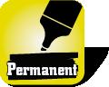 Piktogramm zur Visualisierung von Permanenz