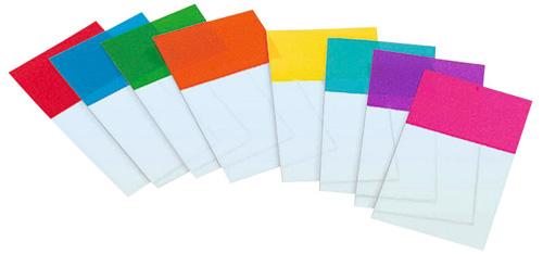 Mehrere farbige Index-Post-its