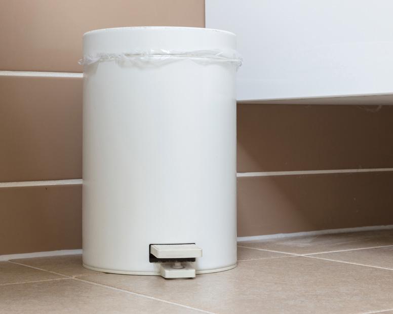 Mülleimer für Restmüll