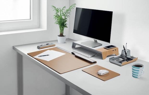 Schreibtischset im Home Office