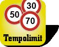 Tempolimit Symbol