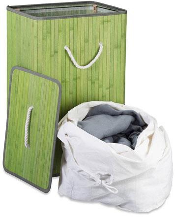 Grüner Wäschekorb von Relaxdays