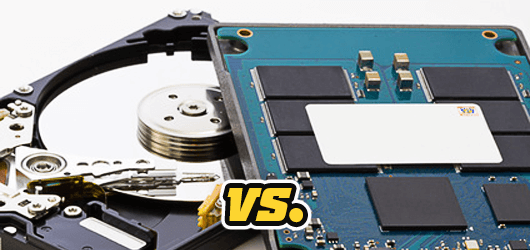 SSD und HDD