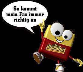Odi office discount: So kommen Faxe immer richtig an!