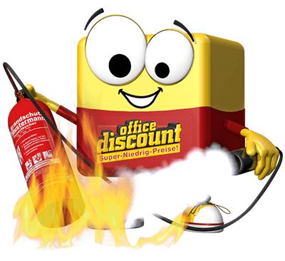 office discount ODI mit Feuerlöscher