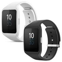 Sony Smartwatch SWR50 schwarz und weiß