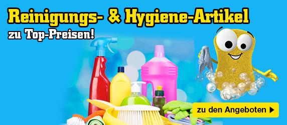 Reinigungs- und Hygieneartikel