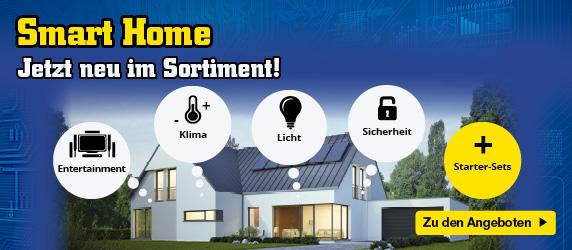 Smart Home - jetzt neu im Sortiment