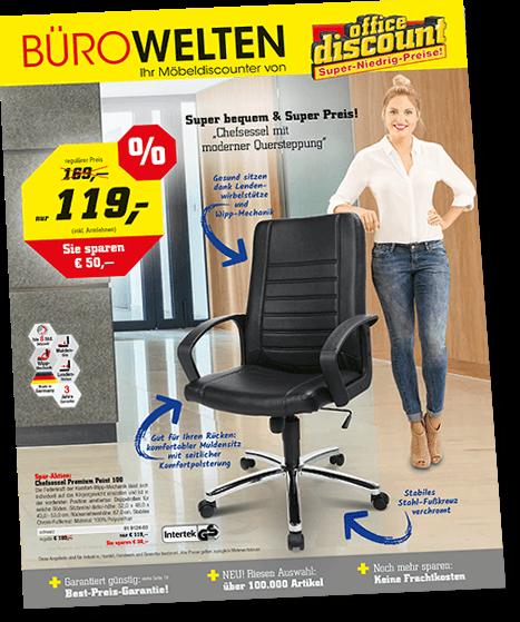 Fordern Sie bequem unseren neuen Katalog an | office discount