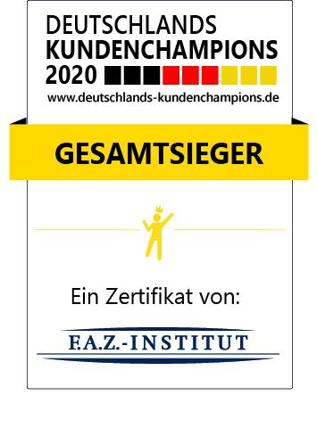 Deutschlands Kundenchampions 2020