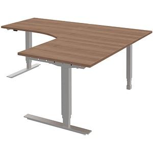 Röhr Höhenverstellbarer Schreibtisch Techno Kirschbaum L Form