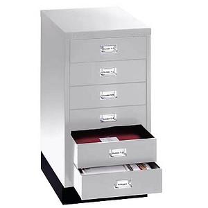 Schubladenschrank MultiDrawer™ L29A36S von BISLEY