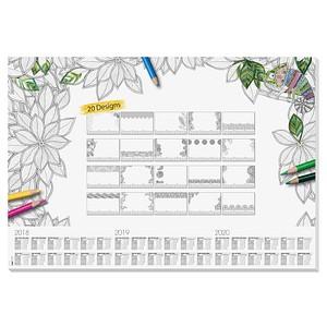 sigel Schreibtischunterlage Adult Coloring 20 Blatt günstig online ...