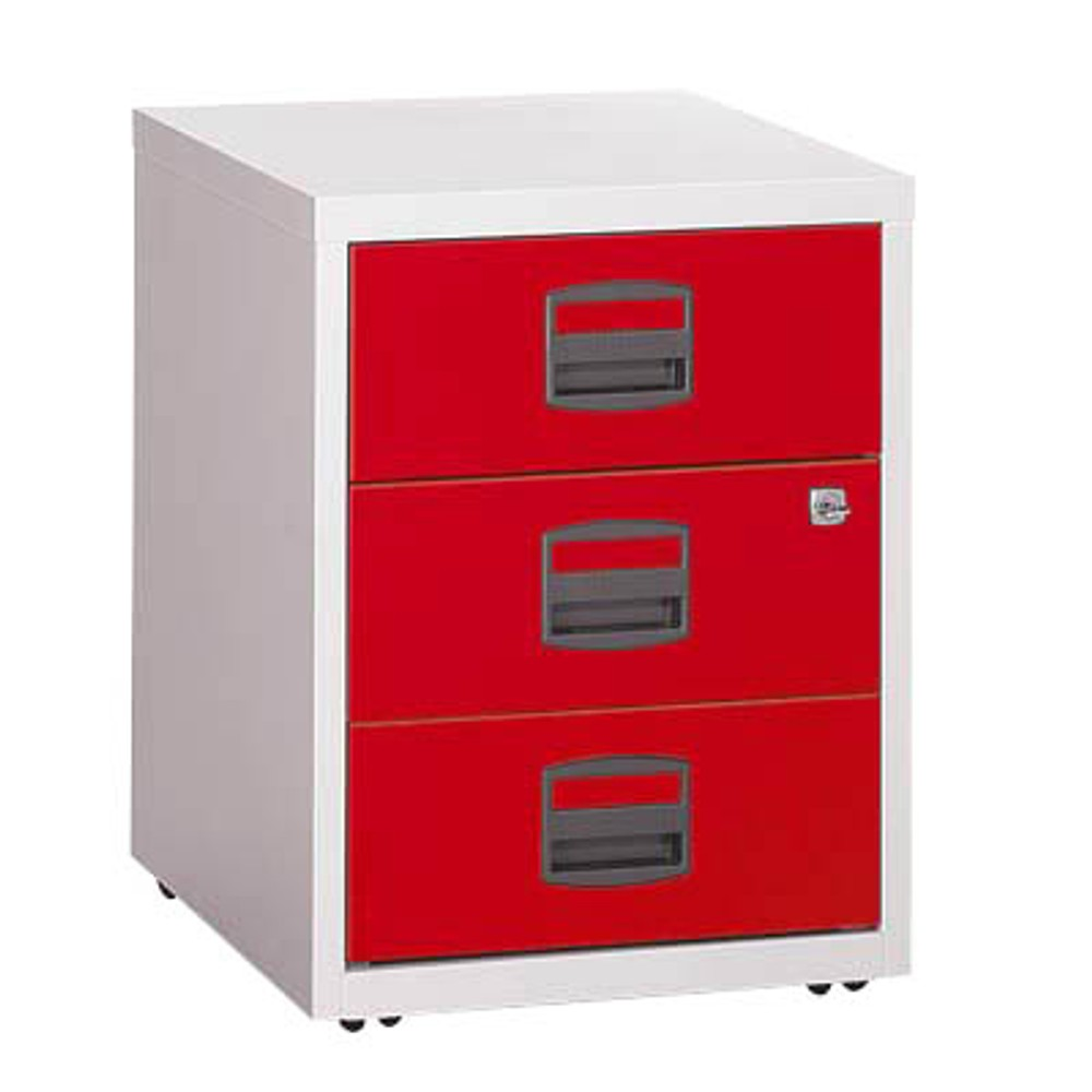 Rollcontainer Rot bisley home rollcontainer rot grau günstig kaufen office