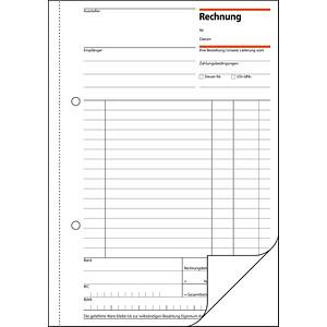 Sigel Formularbuch Re525 Rechnung Günstig Online Kaufen Office