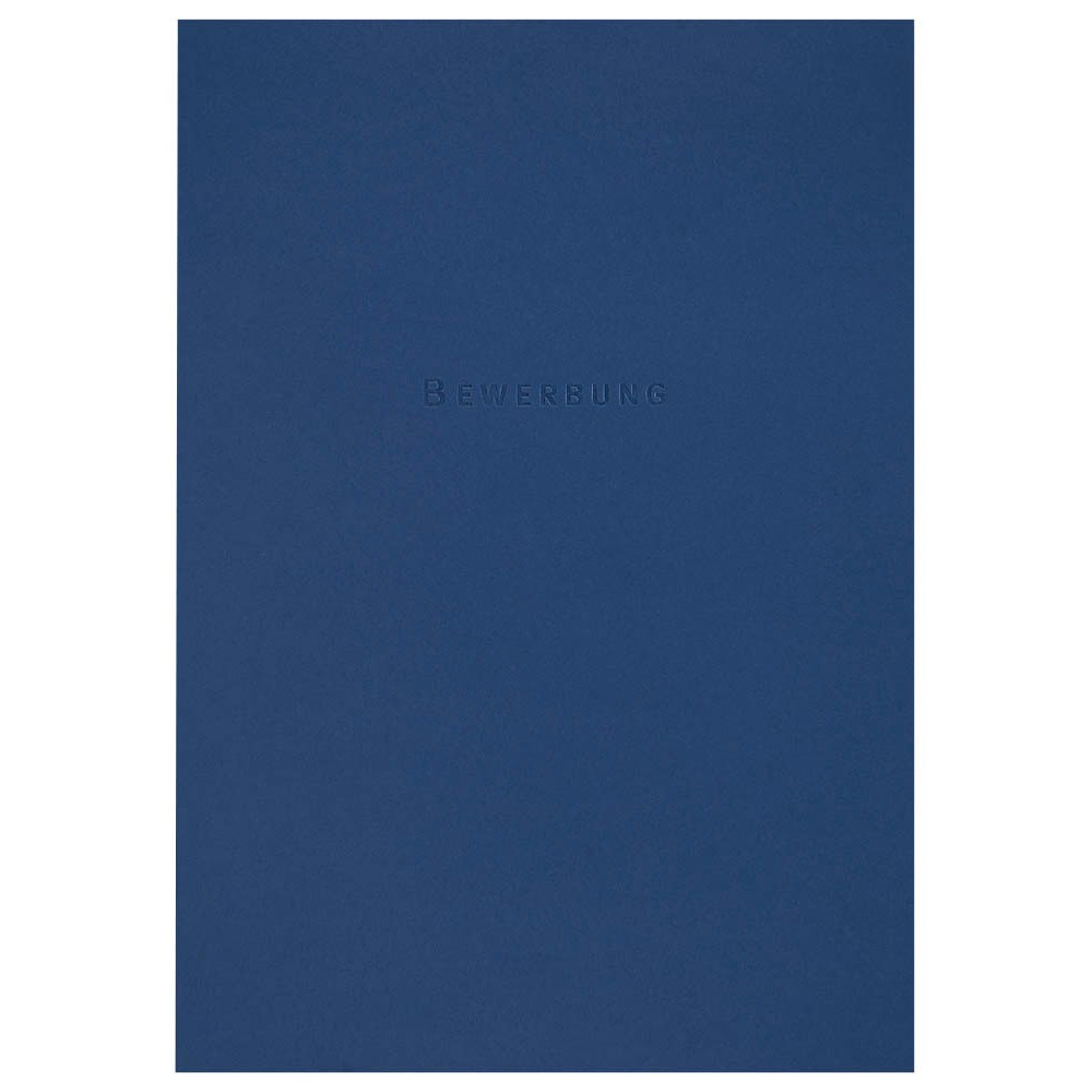 3 ELBA Bewerbungsmappen Excellent dunkelblau