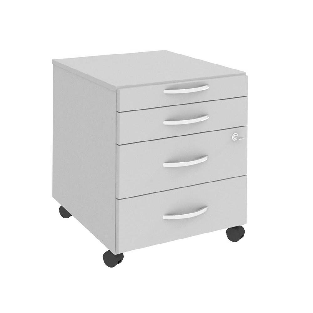 WELLEMÖBEL Rollcontainer Easy Up grau günstig online kaufen   office ...