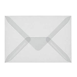 25 sigel transparente briefumschl ge din c6 ohne fenster g nstig online kaufen office discount. Black Bedroom Furniture Sets. Home Design Ideas