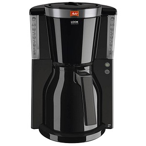 melitta look therm selection kaffeemaschine schwarz g nstig online kaufen office discount. Black Bedroom Furniture Sets. Home Design Ideas