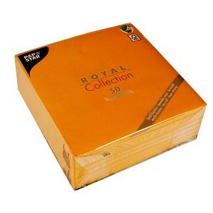 50 papstar servietten orange g nstig online kaufen office discount. Black Bedroom Furniture Sets. Home Design Ideas