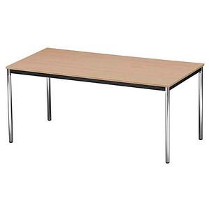 mehrzwecktisch buche rechteckig g nstig online kaufen office discount. Black Bedroom Furniture Sets. Home Design Ideas