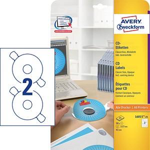 CD-Etiketten ClassicSize von AVERY Zweckform