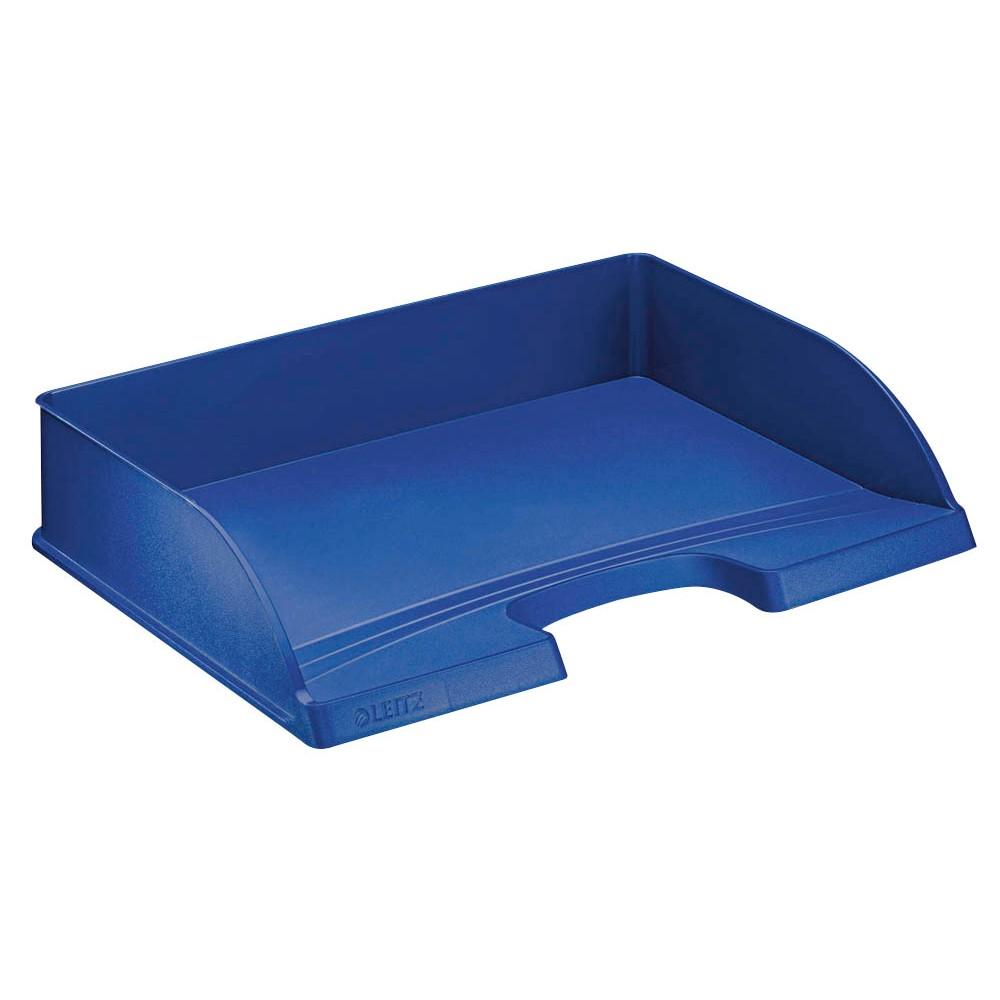 Leitz Briefablage Standard Quer Plus Blau Gunstig Online Kaufen